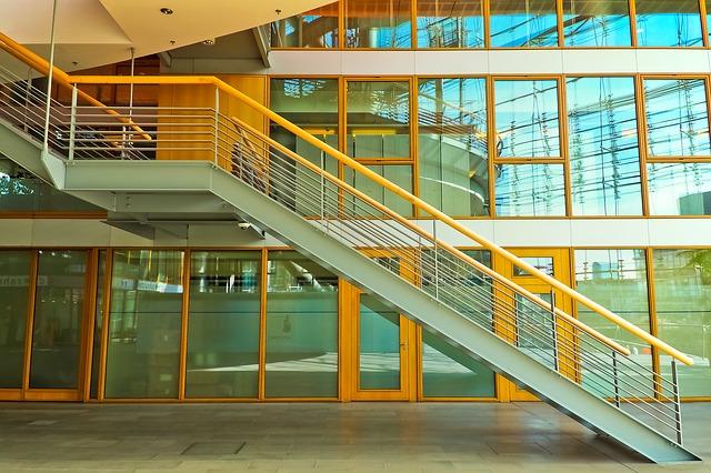 schody jako architektonický prvek
