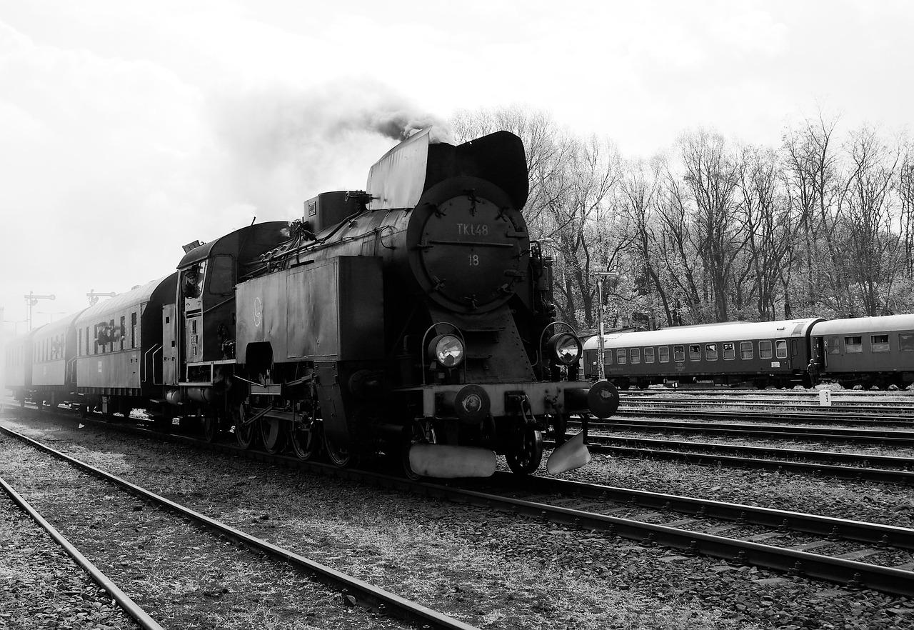 stará vlaková souprava